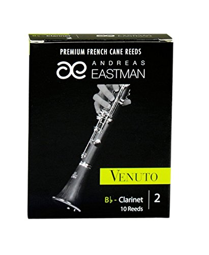 Andreas Eastman ACC-RDVCL2/10 Bb Clarinet Venuto Reeds, Size: 2 by Andreas Eastman