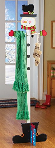 Snowman Coat Holiday Hanger Multi