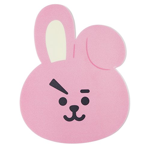 883960ffd2641 BT21 Official Merchandise by Line Friends - Cooky Character Cute 3pc Office  Supplies Set with File Folder, Sticky Note, and Mouse Pad