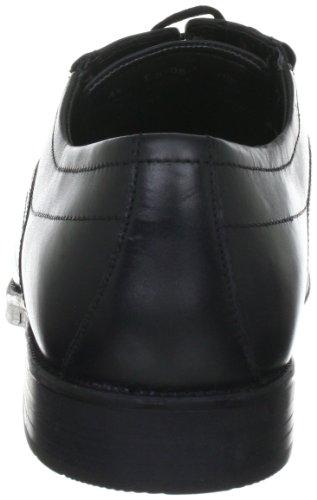 Bugatti T55081 T55081 - Zapatos de cordones de napa para hombre Negro