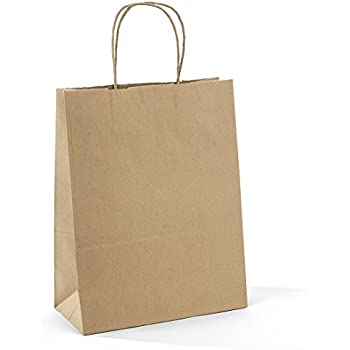 Cosco premium small brown paper shopping bag for Brown paper craft bags