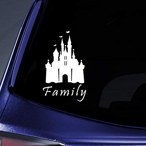 Disney Family Window Decal - Bargain Max Decals - Family Sticker Decal Notebook Car Laptop 5