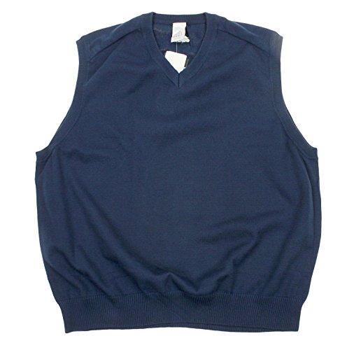 Mens Reebok Coaches Vest, Navy (Tee Reebok Coaches Mens)
