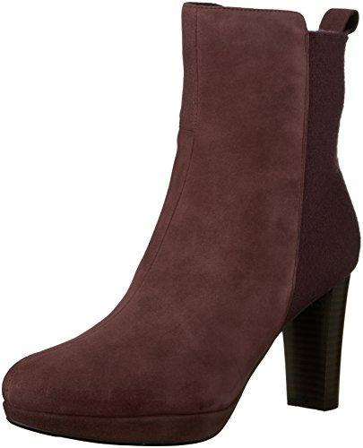Kendra Porter 9 Chelsea US Boot Clarks Women's Aubergine Suede M 67H5pwqvwx