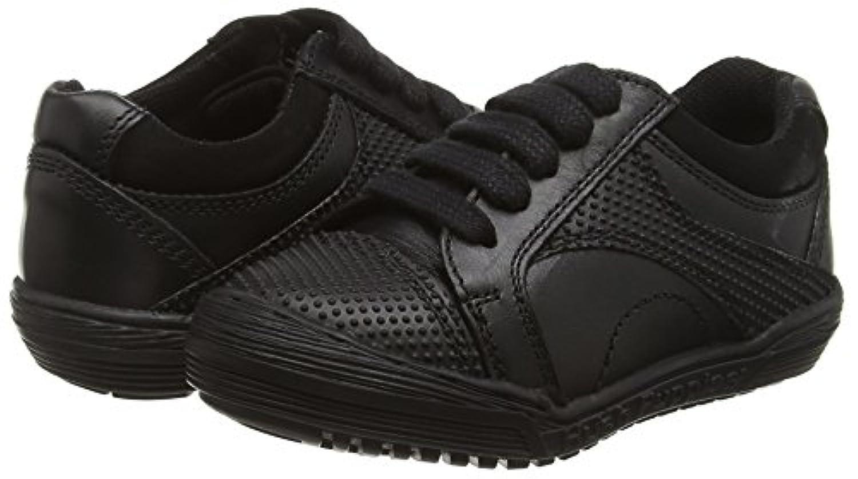 Hush Puppies Boys' Martin Jnr Sneakers, Black (Black), 2 UK 34 EU