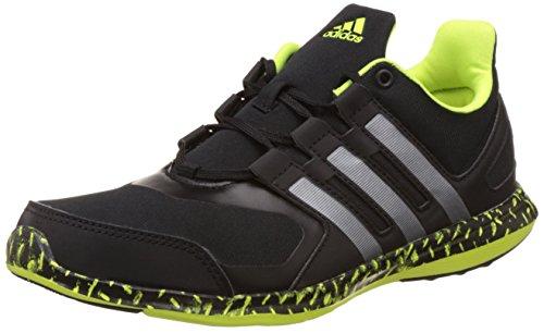 adidas Hyperfast 2.0 K, Zapatillas de Deporte Para Niños Negro (Negbas / Hiemet / Amasol)