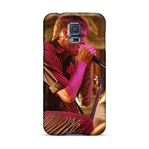 Samsung Galaxy S5 RHt176gPuW Customized Fashion Burn In Silence Band Series Shock-Absorbing Hard Phone Case -InesWeldon