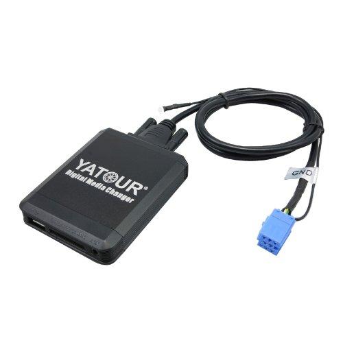 YATOUR Car Digital Music Changer For 8Pin Plug Audi VW Skoda Seat USB SD AUX MP3 IPOD/IPHONE