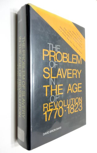 Problem of Slavery in the Age of Revolution, - Chattanooga Outlets