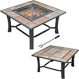 Amazon Com Wood Charcoal 23 Quot Portable Outdoor Patio