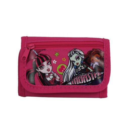 Tri-Fold Wallet - Monster High - Ghoulishly -