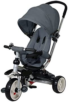 Baby 's Clan giromito.09–Triciclo, Color Gris Oscuro