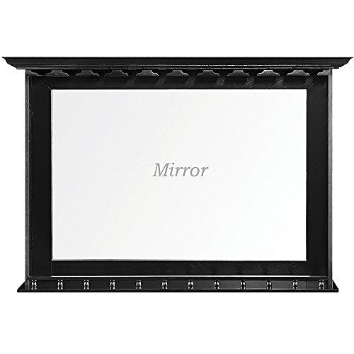 RAM Gameroom Black Bar Mirror