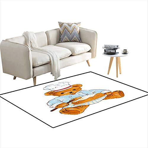 Area Rugs for Bedroom Pretty Bear 3'x12' - Mustang 12' Belt