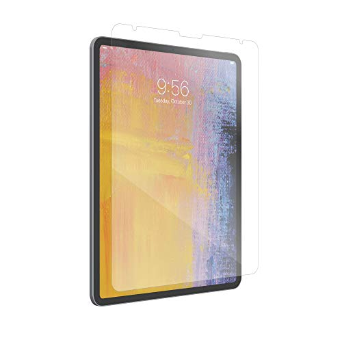 ZAGG InvisibleShield Glass Plus - Tempered Glass Screen Protector Made for the Apple iPad Pro 12.9 inch - -