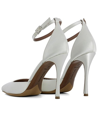 Leather White TABITHA SIMMONS Women's Pumps ALHAMBRA100MMWHITESATIN rtItq