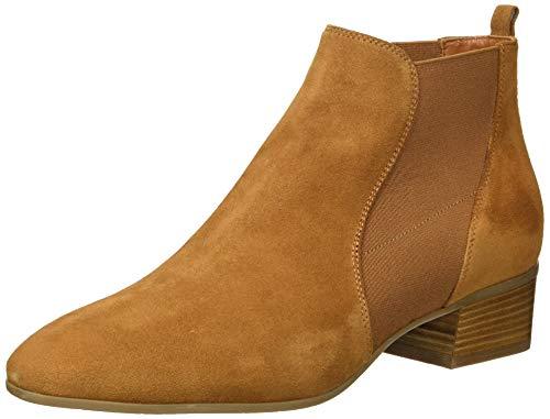 Aquatalia Women's Falco Suede Chelsea Boot, bark, 7 M US