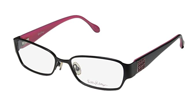Eyeglasses Lilly Pulitzer SOPHIA BLACK Black at Amazon Women\'s ...