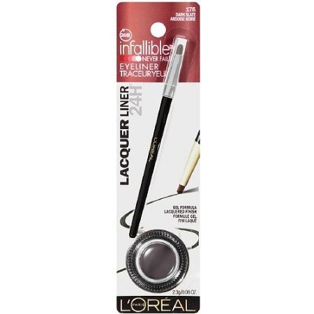 L'Oreal Infallible Lacquer Liner 24H, 175 - Dark Slate  (Pack of 2)   -