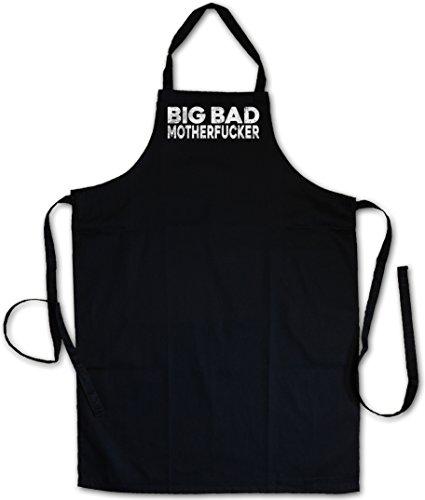 Urban Backwoods Big Bad Motherfucker Barbecue BBQ Kitchen Cooking Apron ? Pulp Geldbeutel Mob Mobster Fiction G Hustler Pimp