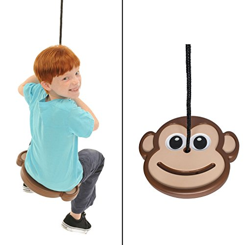 Cheap  SWINGING MONKEY PRODUCTS Monkey Disc Swing – Unique Design, Tree Swing, Outdoor..
