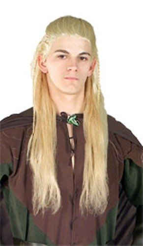 Rubie's Costume Lord Of The Rings Legolas Wig, Yellow, One Size