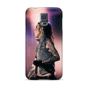 Great Hard Phone Covers For Samsung Galaxy S5 With Provide Private Custom Lifelike Black Veil Brides Band BVB Skin CristinaKlengenberg