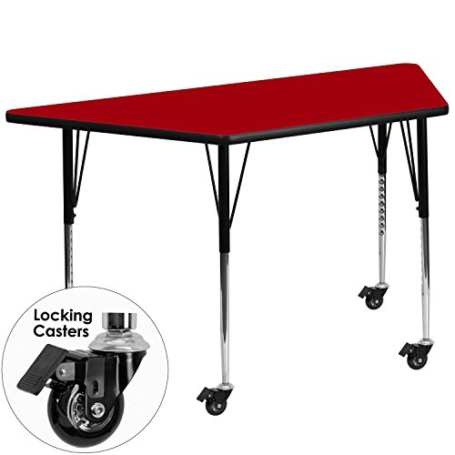 flash-furniture-mobile-30-by-60-inch-trapezoid-activity-table-with-red-thermal-fused-laminate-top-an