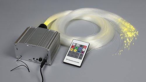 Pack of Led Fiber Optic Lamp Color Changing DIY Twinkle Stars Ceiling Lights