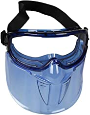 Jackson Safety - 18629 V90 Shield Clear Anti Fog Lens Protection Goggle with Blue Frame