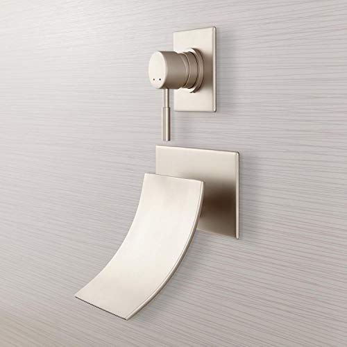 - Signature Hardware 378999 Reston Waterfall Wall Mounted Tub Filler