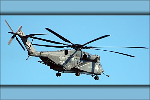 24x36 Poster . Mh-53E Sea Dragon Helicopter