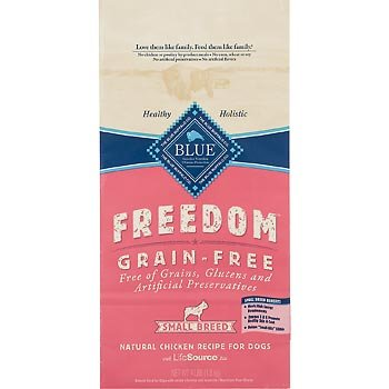 Blue Buffalo Small Breed Freedom Grain Free Chicken Recipe Dry Dog Food, 11-Pound, My Pet Supplies