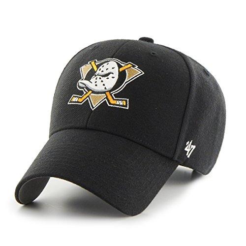 Struct Gorra negro Anaheim Nhl Brand – Curved Black Ducks Mvp V 47 Fit pwqFprz