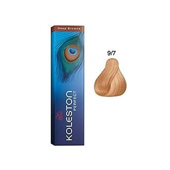 Wella Koleston Perfect Deep Browns 9/7 Rubio Claro Tinte Permanente Coloración 60ml