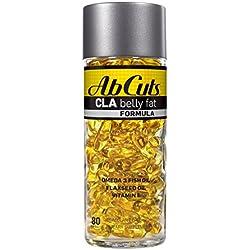 Ab Cuts CLA Belly Fat Formula, 80 Softgels