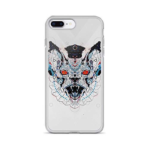 iPhone 7 Plus/8 Plus Pure Clear Case Cases Cover Meerkat Illustration Art