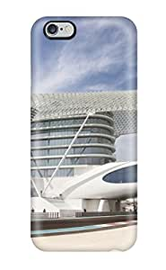 Iphone 6 Plus Case Cover - Slim Fit Tpu Protector Shock Absorbent Case (architectural Buildings )