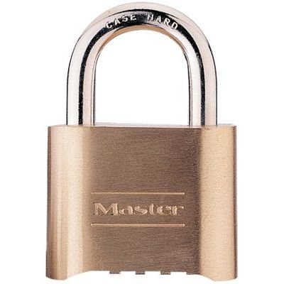Master Lock Model No. 175D  2in (51mm) Wide Set Your Own Combination Solid Body Padlock (Set of (175d Resettable Combination Padlock)