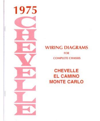 41CJV9XKE5L amazon com 1975 chevrolet chevelle monte carlo electrical wiring