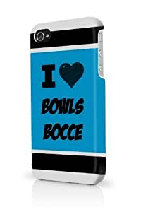 TYH - Bowls Bocce Blue iPhone 5/5S Case - For iPhone 5/5S - Designer PC Case Verizon AT&T Sprint phone case