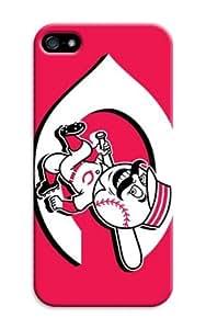 LarryToliver Coolest Customizable Logo case Top iphone 5/5s Customizable Baseball Cincinnati Reds Designer Cover wangjiang maoyi