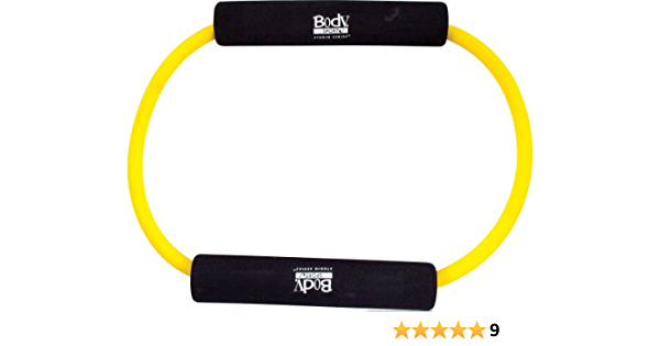 Extra Heavy Resistance Body Sport Covered Resistance Tube With Foam Handle Bla