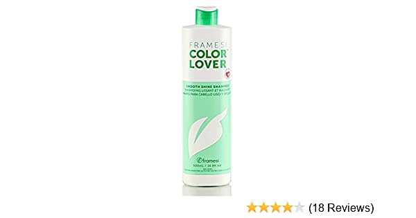 Amazon.com : Framesi Color Lover Smooth Shine Shampoo, 16.9 Ounce : Hair Shampoos : Beauty