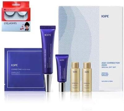 IOPE Age corrector 2500 Gift set+lovehotsummer BTH Eyelashes set