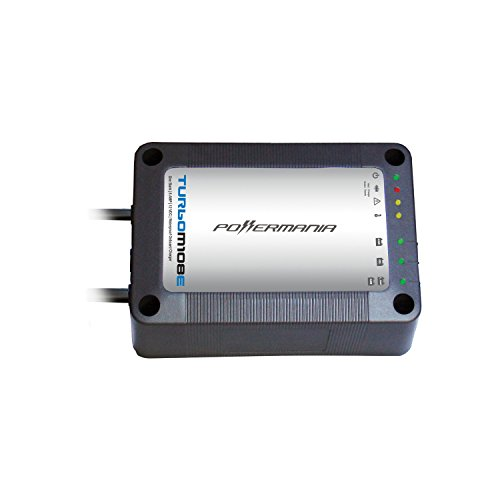 Powermania Turbo M108E waterproof battery charger (Single Bank, 8A)