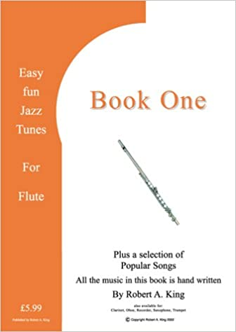 Easy Fun Jazz Tunes for Flute: Instructional Music Theory Book
