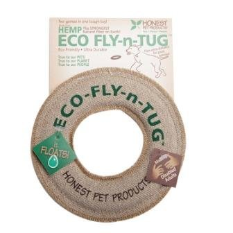 Honest Pet Products 6'' Eco Fly-n-Tug Toy for Dogs by Honest Pet Products