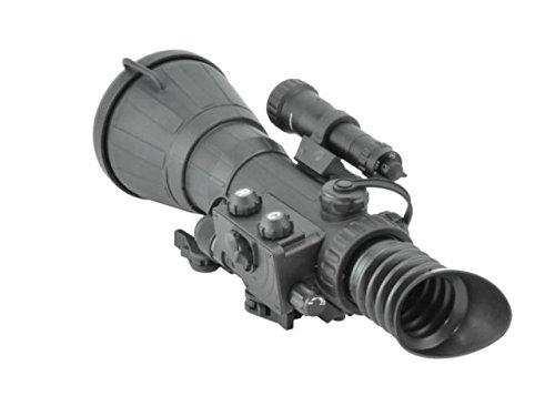 Armasight Vulcan 6x QS-HD MG - Professional 6x Night Vision Rifle Scope Gen 2+ Quick Silver High