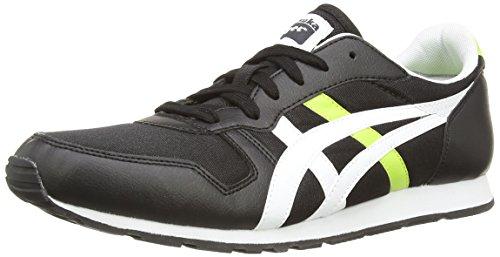 Asics Temp-Racer, Scarpe Sportive, Unisex-Adulto Black/White 9001